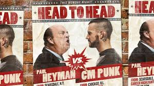 Punk vs Heyman