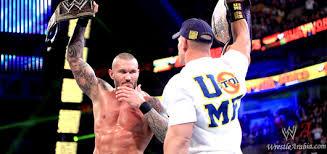 Cena Orton Faceoff