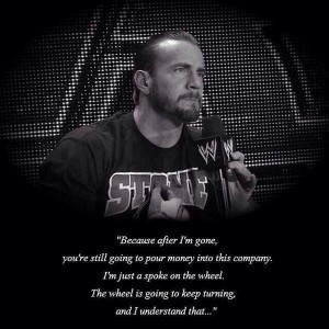 CM Punk on WWE