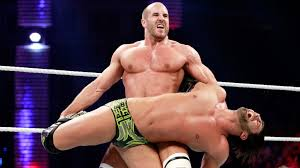 Cesaro in The Gap