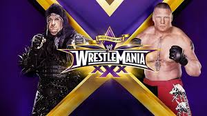 Taker vs Brock