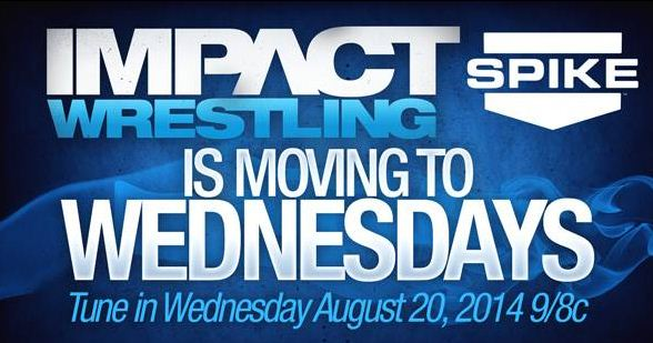 Impact Moves to Weds