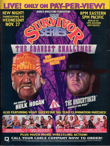 Survivor Series at The Joe
