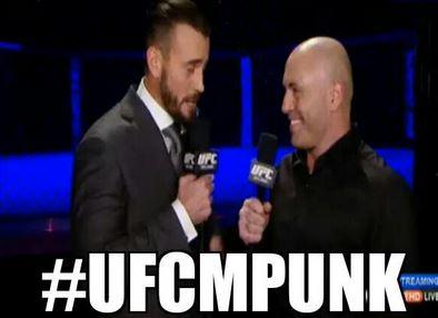 CM Punk UFC