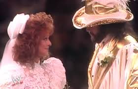 Randy Savage and Elizabeth