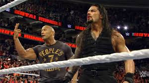 Rock and Roman Reigns