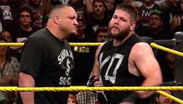 Samoa Joe vs Kevin Owens lar
