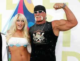 Hulk Hogan and Brooke