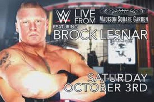 Brock Lesnar MSG