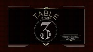 Table for 3 2