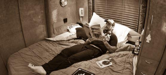 CM Punk Bus