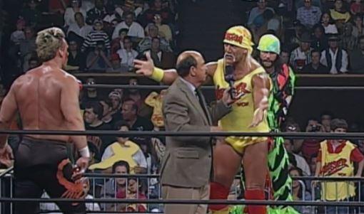 Sting Hogan and Savage