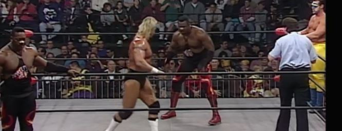 Harlem Heat vs Sting and Luger