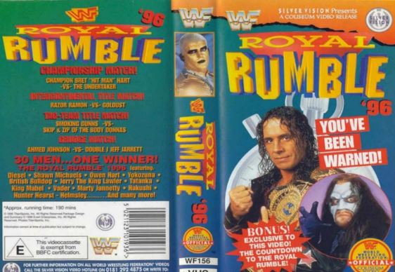 Royal Rumble 96 Poster