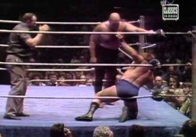 George Steele vs Bruno