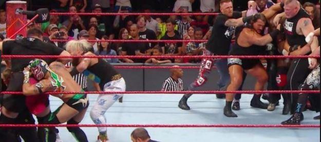 Joe vs Brock RAW