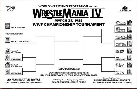 Wrestlemania IV 1988 – Rewind – Ring Time Pro Wrestling